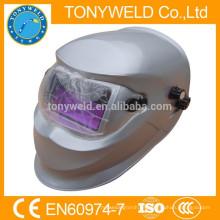 Oscurecimiento automático del casco de soldadura con filtro de aire