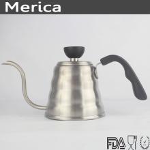 Chaleira de café de aço inoxidável 700ml