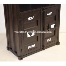 Industrie-Container Versand-Stil Schrank Regal