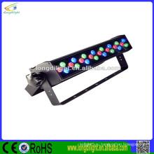 Longdi свет завод оптовой CE 24 * 1W RGB DMX 18W стены шайба привело