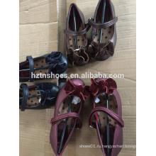 Цвета принцесса обувь бархат лук передние балерина квартиры девочки школы обуви велкро ремень платье обуви