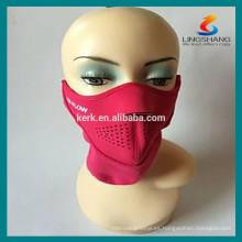 Casco de seguridad Motocicleta barata Máscaras protectoras máscara de neopreno de medio rostro
