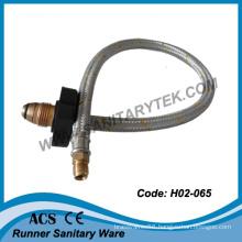 Aluminium Wire Braided Gas Hoses (H02-065)