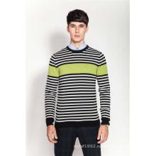 100% кашемир вязаный свитер для мужчин вязаный свитер