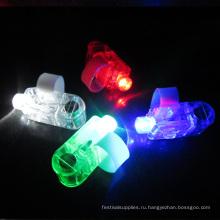 партии проблескивая светодиодный лазерный палец кольцо