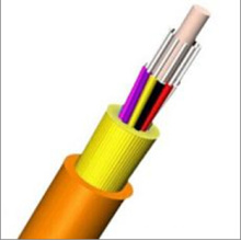 6 Core Indoor Distribution Fiber Optic Cable with FRP