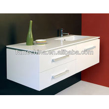 New MDF bathroom furniture Glass basin modular kitchen price