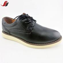 Новые люди типа вскользь кожаные ботинки способа обувают (FF715-3)