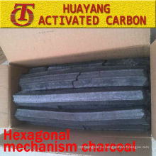 (8500kcal/3.5-5hs время горения)Гексагональной уголь механизм уголь для барбекю/древесный уголь опилк