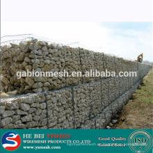 2014 La venta caliente tejió el precio de la cesta del gabion (fabricación)