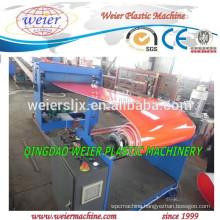 PP plastic sheet making extruder machine