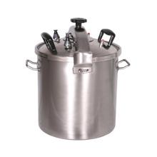 Fogão de pressão de aço inoxidável Deluxe 51L
