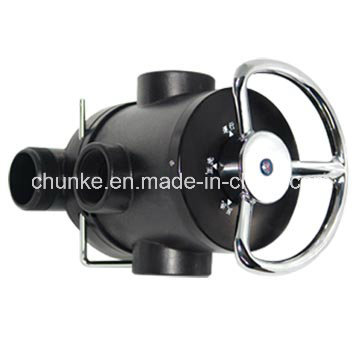 Válvula da flunk de Chunke Digital / válvulas de Runxin para o tratamento da água