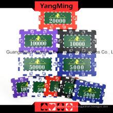 Conjunto de fichas de pôquer de dados americano -760PCS (YM-FMGM001)