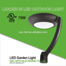 SNC UL CUL listed street light flood light 75w LED garden light with 5 years warranty
