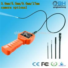 Endoscope portatif imperméable d'inspection de soudure de 2,4 pouces TFT LCD