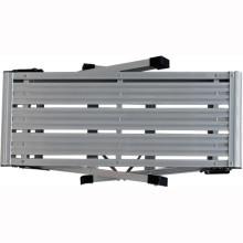 Große faltende zweistufige Aluminiumarbeitsplattformleiter