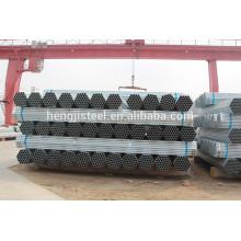 Galvanizado soldado precio de la pipa de acero por tonelada con alta calidad