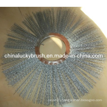 0.8mm Crimped Steel Wire Snow Brush (YY-115)