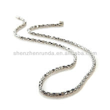 "Necklace Designs Necklace Vners Stately Steel Marquise-Shaped 20"" Popcorn Chain Women Jewelry Manufacturer"