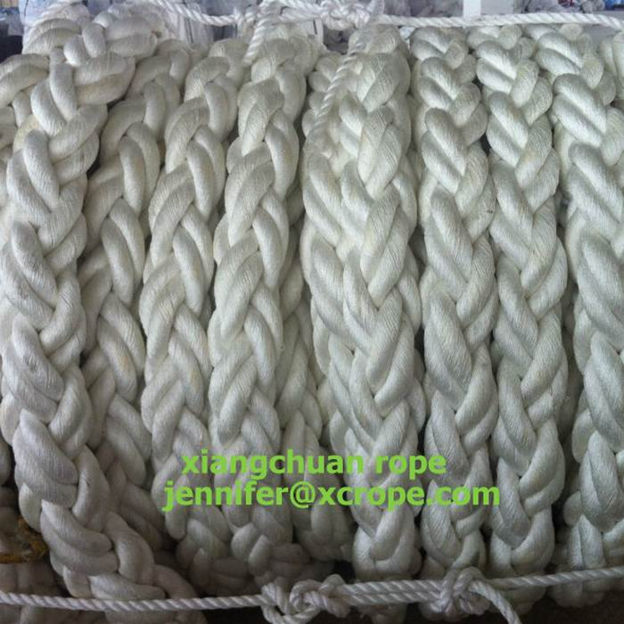 104mm 150M polyester yarn rope 8 strands
