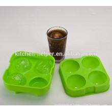 Os moldes do gelo do silicone da novidade apreciam bebidas frias do gelo por horas