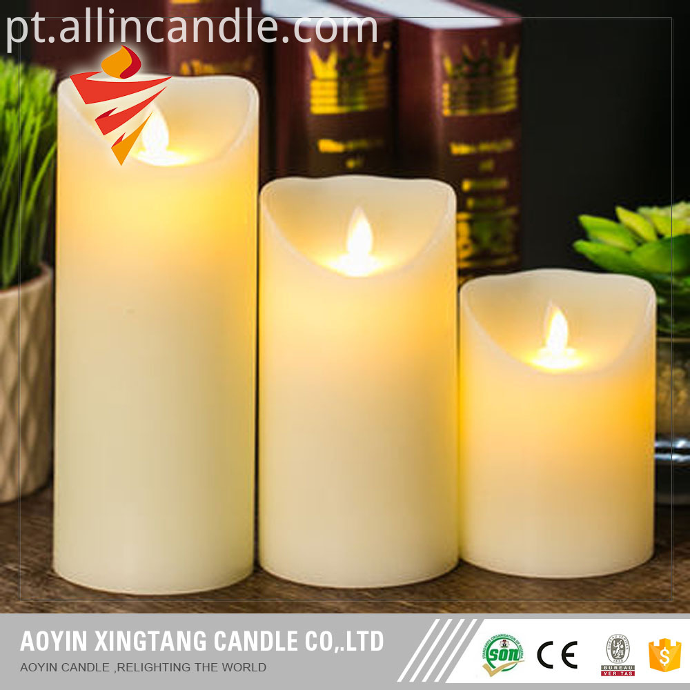 led flickering candle