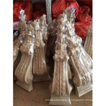 moldes de ofício de mísulas de madeira decorativas