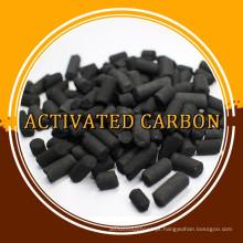Carbono ativado em coluna para filtro de ar