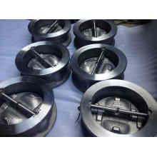 Válvula de verificação da bolacha do aço inoxidável (H76H)