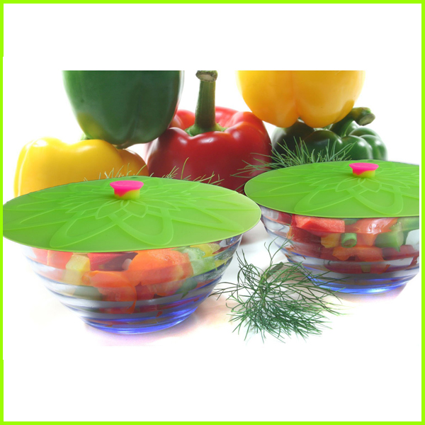 BPA Free Food Cover Silicone Suction Lids