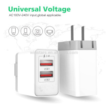 12W USB Charger, Travel Wall Charger Dual Port