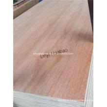 Okume Plywood Poplar Core E1 Cola BB / CC Grade