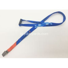 Dye Sublimation Dicetak Polyester Lanyards