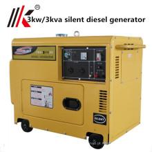 2kw 2.5kva motor diesel do cilindro do gerador 1 do mitsubishi de 2.5 kva