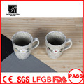 flower design ceramic coffee mug,hot sale ceramic milk mug,ceramic mug factory