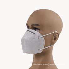 KN95 descartável não tecido que dobra a meia máscara protectora para o uso do auto