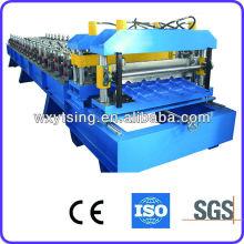 2015 ¡¡¡Venta caliente !! Fabricación de YDSING-YD-00009 / China / máquina automática llena de la teja del metal para la venta, máquina que forma rollo de la teja en WUXI