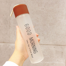 Bouteille d'eau de bouteille givrée portative de 360ml