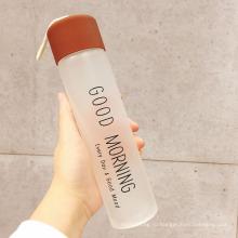 360 мл портативный матовое бутылка питья бутылка воды