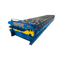 Aluminium Langkah-jubin Roofing Sheet Making Machine