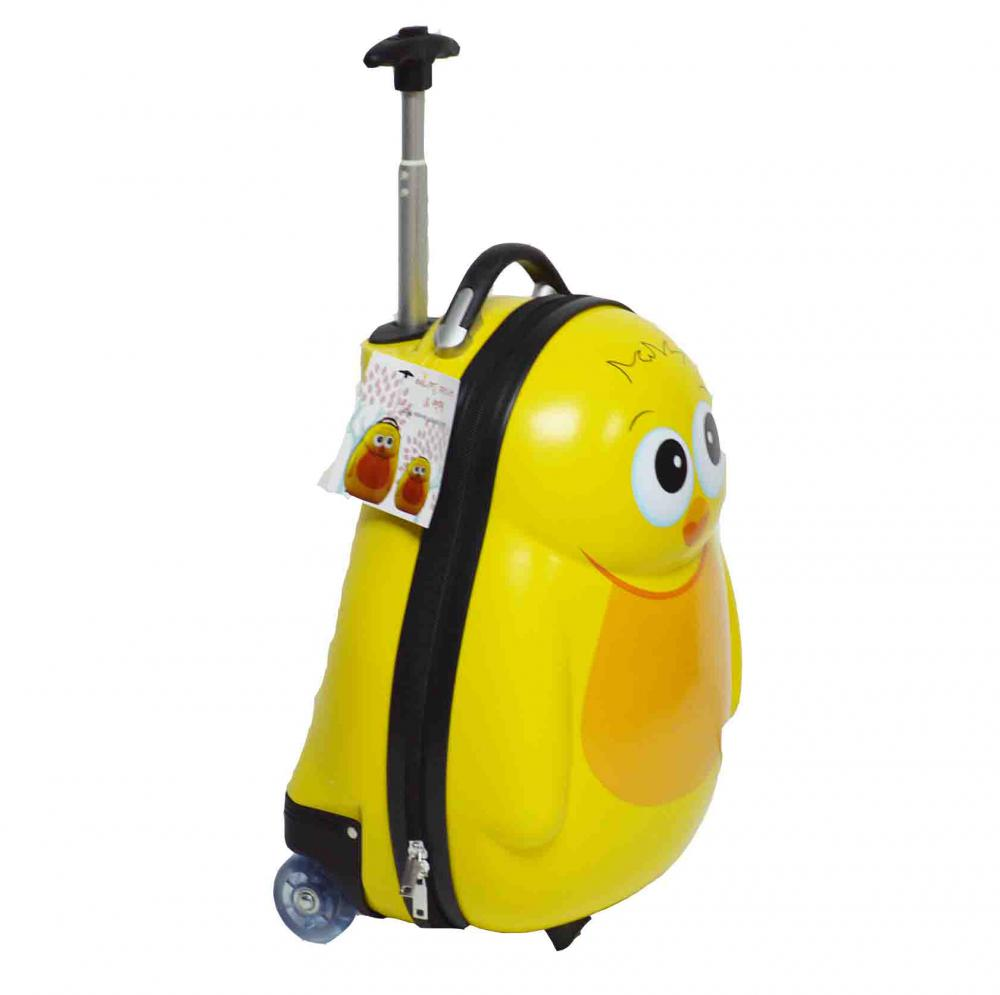 Trolley Luggage with PVC Wheels