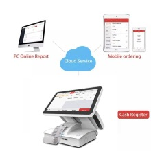 15.6 Inch dual screen cash register POS systems