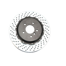 "355*32 mm drill style brake rotor 18""rim wheel"
