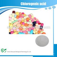 100% natural Tratamiento antitumoral y adelgazante Extracto de grano de café verde 50% Acidos clorogénicos