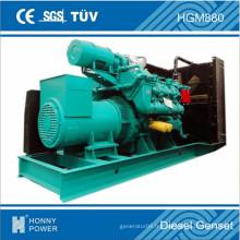 Générateur triphasé silencieux diesel 200kVA-3000kVA
