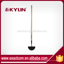 Forged Turf Hand Grass Edger With Long Wood Handle