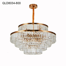 contemporary led chandelier pendant crystal lighting