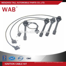 Auto peças substituição do silicone vela fio assembly 1903775010 para Toyota