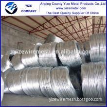 China Manufacture flat galvanized wire manufacturer make galvanied wire